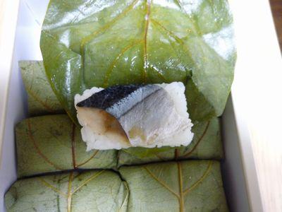 柿の葉寿司弁当中身2.JPG