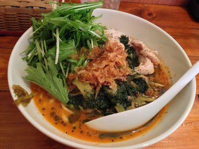 海老だしを使った限定和え麺.JPG