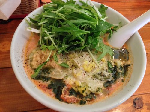 白菜の生姜クリーム.JPG